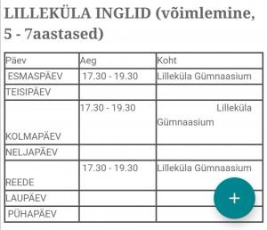 Lilleküla Inglid 5-7a